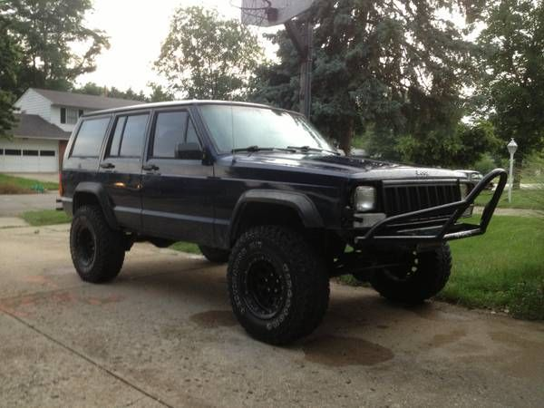 1995 jeep cherokee 4x4 for sale troy ohio. Black Bedroom Furniture Sets. Home Design Ideas