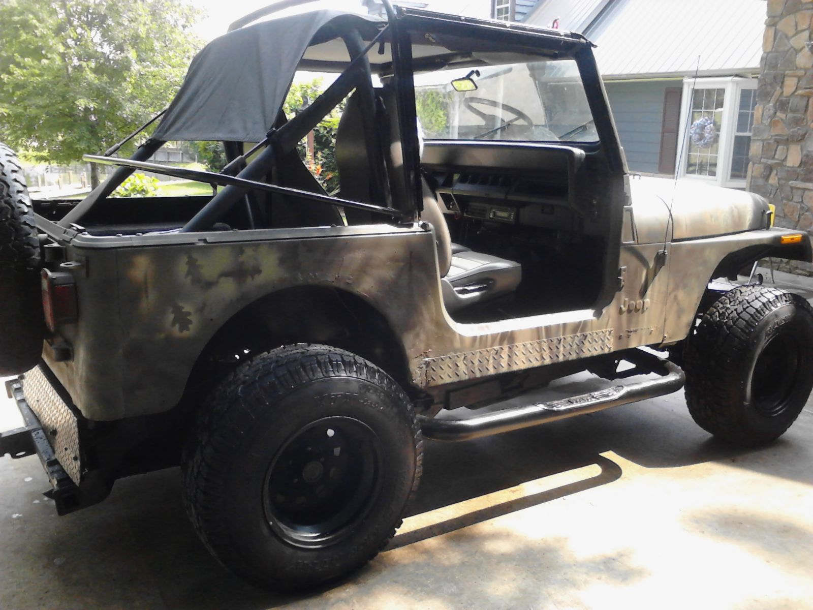 1994 Jeep Yj Wrangler Sport Camo Edition For Sale