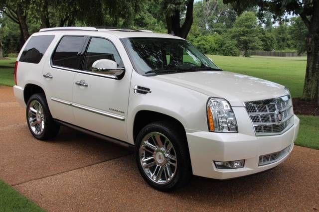 2013 Cadillac Escalade For Sale >> 2013 Cadillac Escalade Awd Platinum Edition For Sale Los
