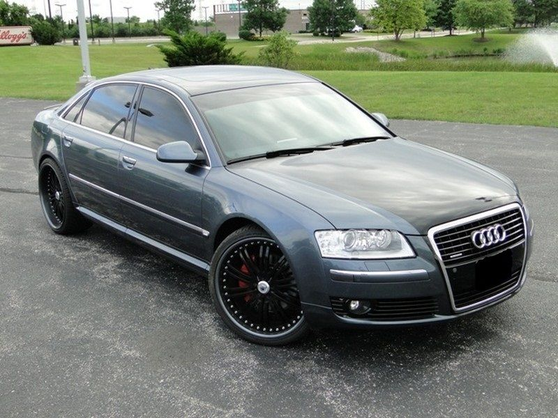 2006 audi audi a8l a8 crown point in for sale crown. Black Bedroom Furniture Sets. Home Design Ideas