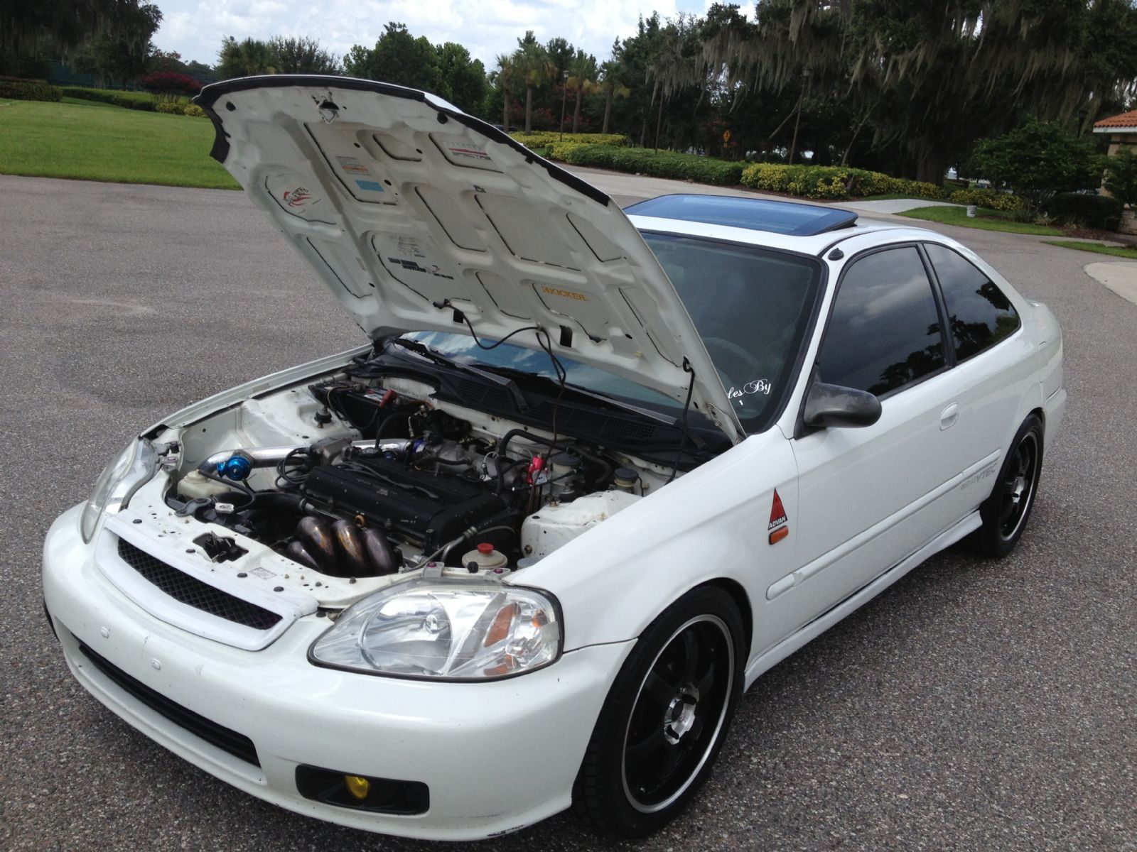 2000 Honda Ek Civic Ex For Sale Kissimmee Florida