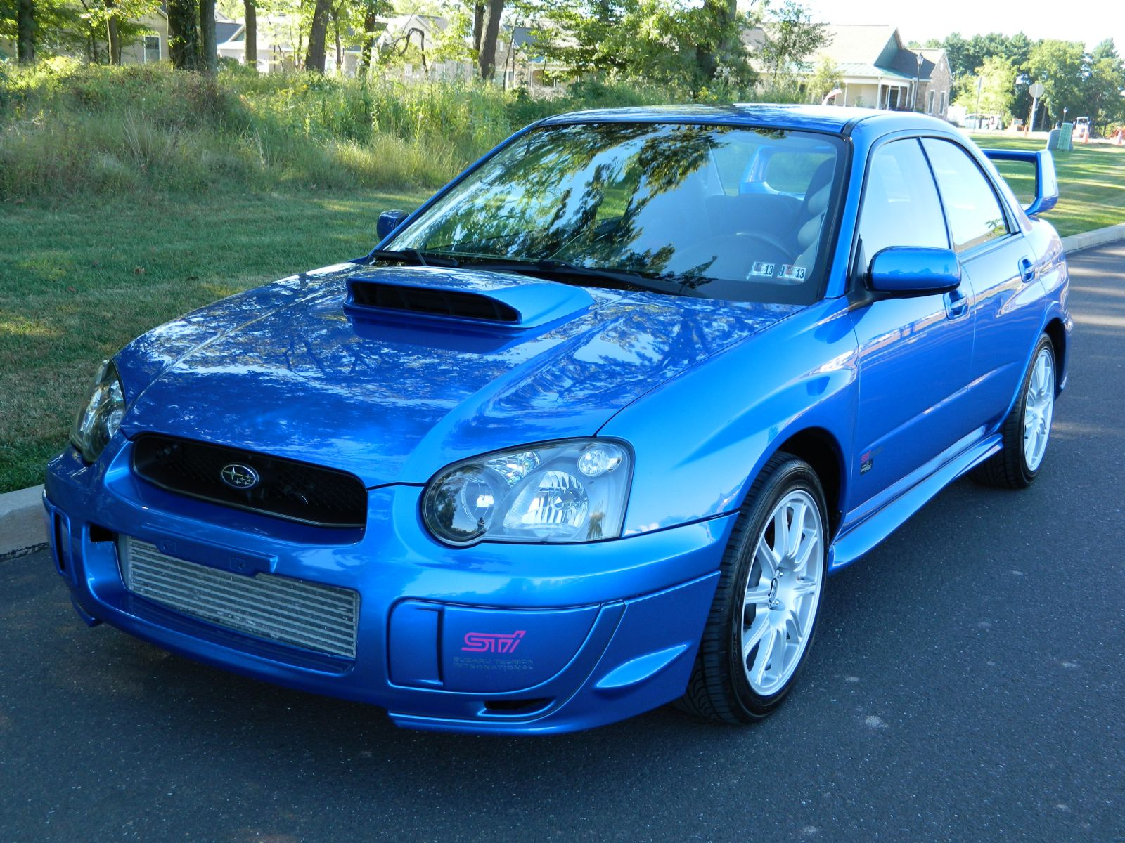 2005 subaru sti impreza sti impreza wrx sti for sale warminster pennsylvania. Black Bedroom Furniture Sets. Home Design Ideas
